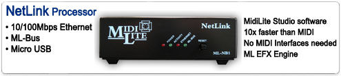 NetLink Processor for MidiLite II